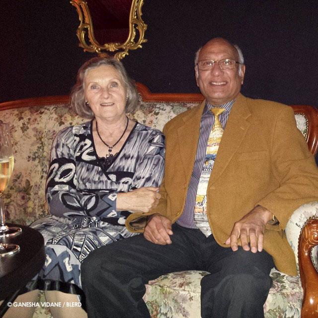 Dagmar and Banda Vidane (Ganesha's parents)