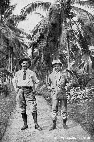 John Hagenbeck (left)