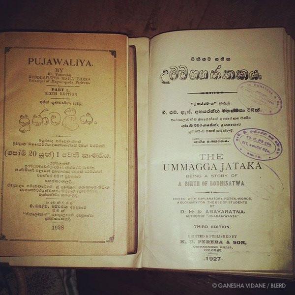 Old book brought to Germany with Epi